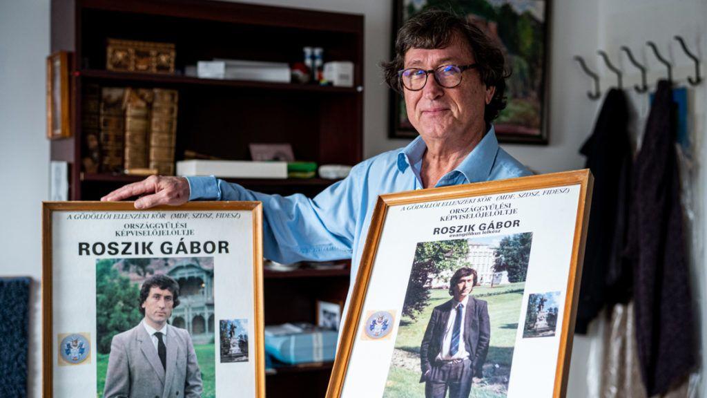 Roszík Gábor: Kiléptem a folyosóra, tele volt kommunistákkal, atyaég, mi lesz itt | hu
